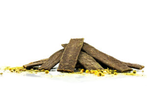 detox treats for dogs made of horse meat and herbs