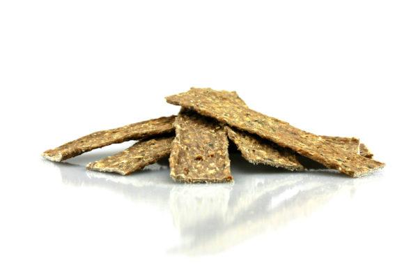Dorsch-Cracker aus Fisch und Kopfhaut Kauartikel für Hunde
