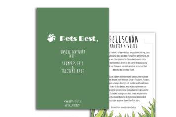 Pets Best Flyer kräuter für Hunde FellSchön