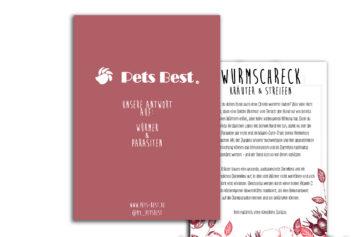 Pets Best Flyer WurmSchreck Kräuter für Hunde
