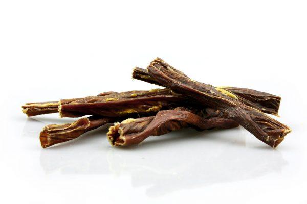 Horse Sticks dog treats made of intestines