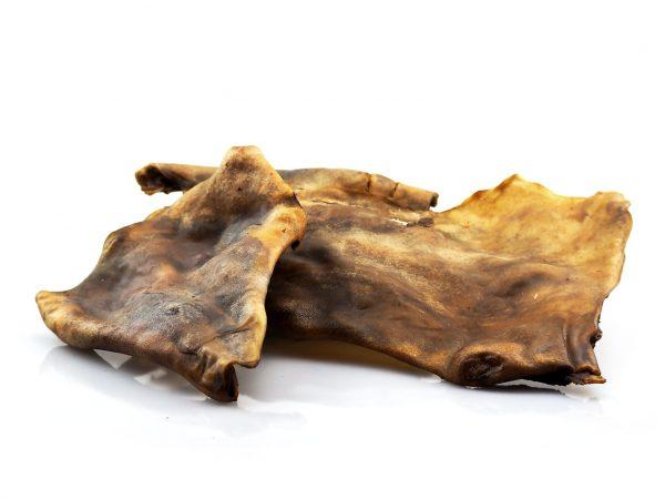 Dried Horse Scin Plates dog chew